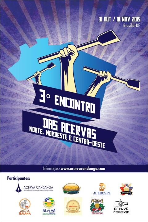 3º Encontro das ACervAs do Norte, Nordeste e Centro Oeste (31/10 a 1/11)