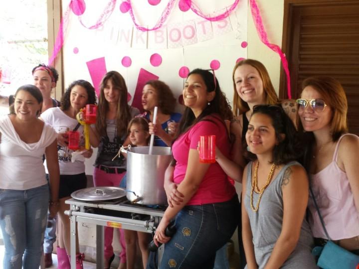 [Galeria de Fotos] Brassagem das mulheres (Pink Boots Society) – 5 de março