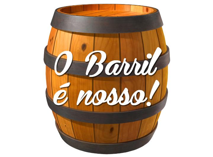 O barril é nosso… e é Bodebrown!
